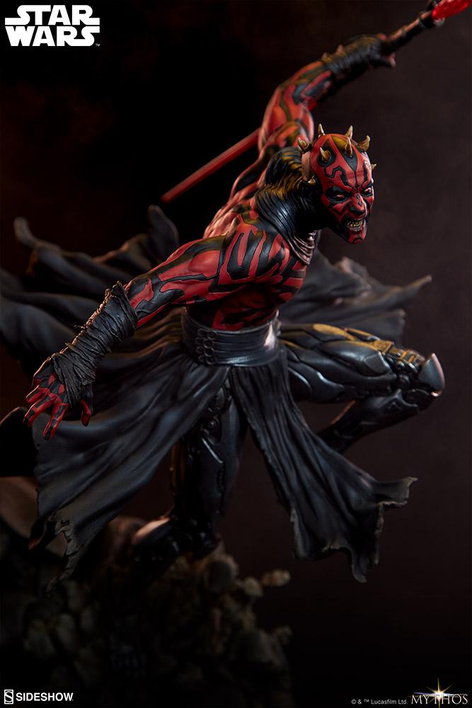 Darth Maul Mythos Statue - Sideshow Collectibles Darth-13