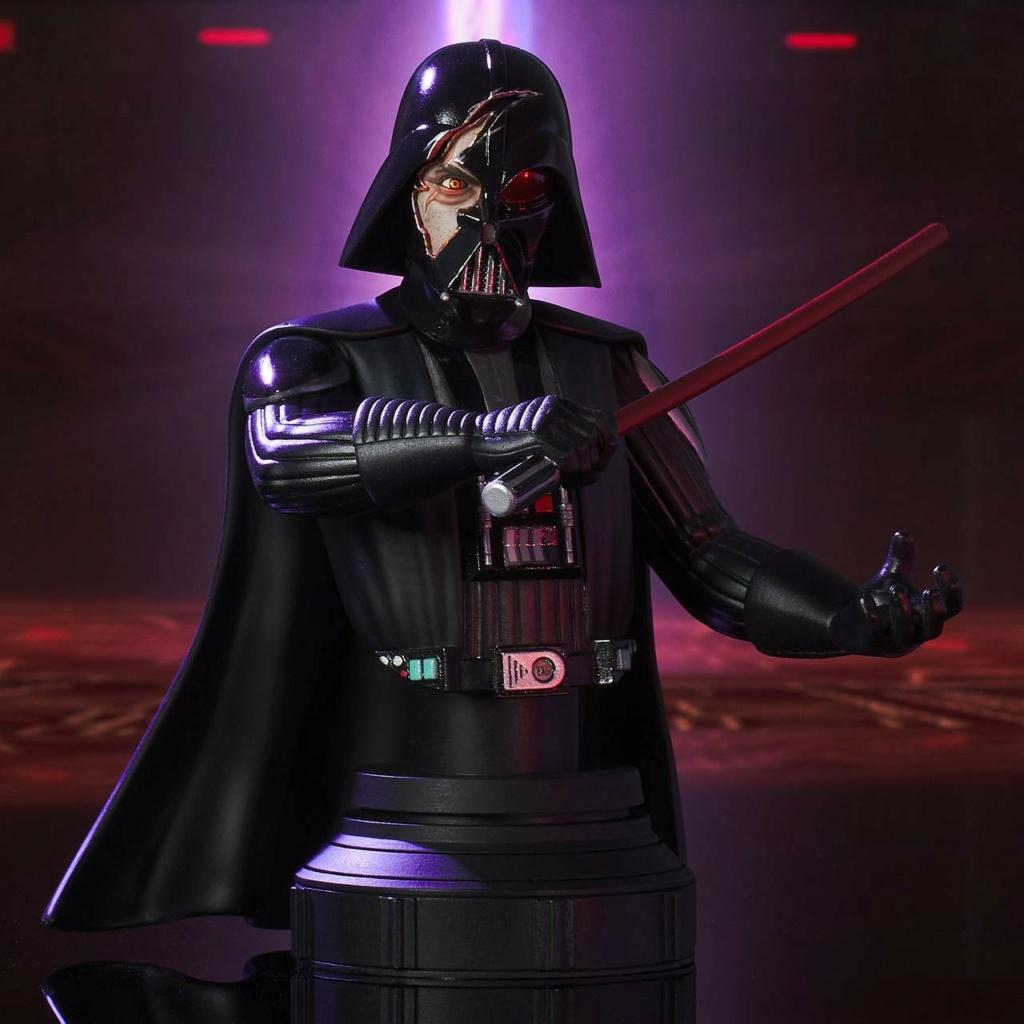 Darth Vader Deluxe Mini Bust - Star Wars Rebels Gentle Giant Darth-24