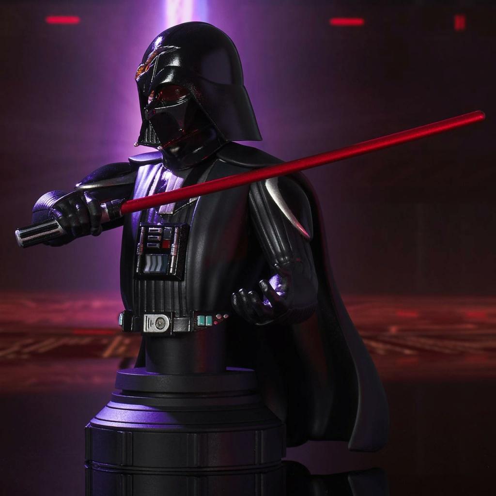 Darth Vader Deluxe Mini Bust - Star Wars Rebels Gentle Giant Darth-25
