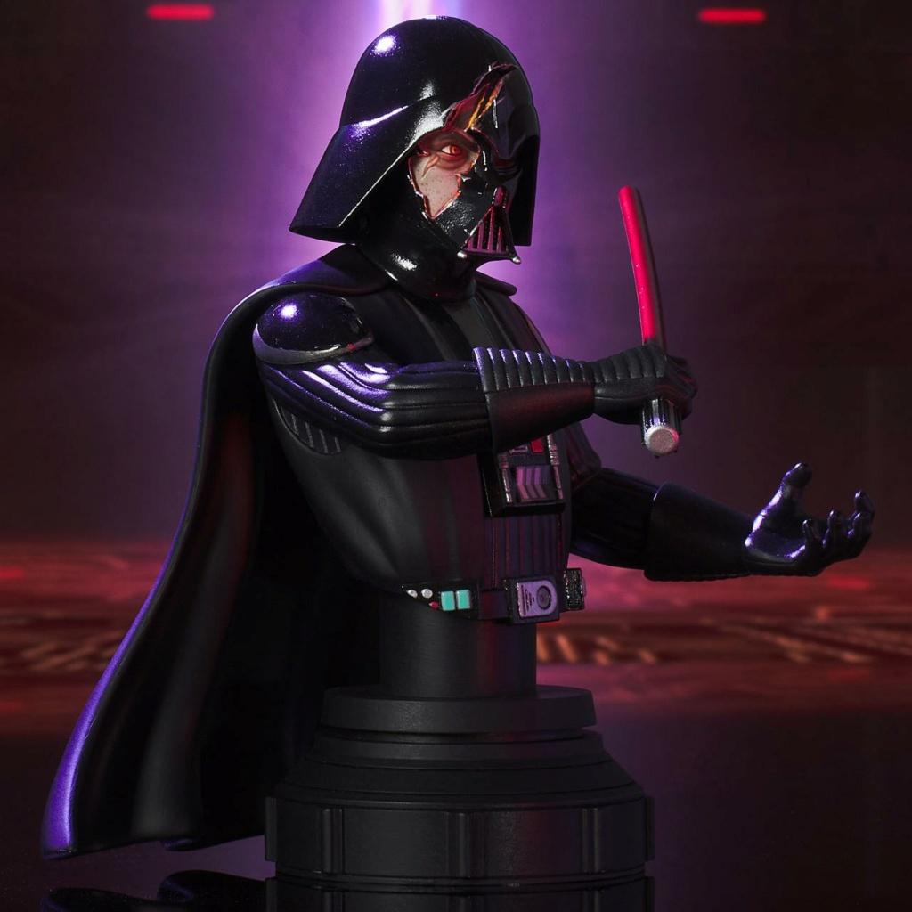 Darth Vader Deluxe Mini Bust - Star Wars Rebels Gentle Giant Darth-26