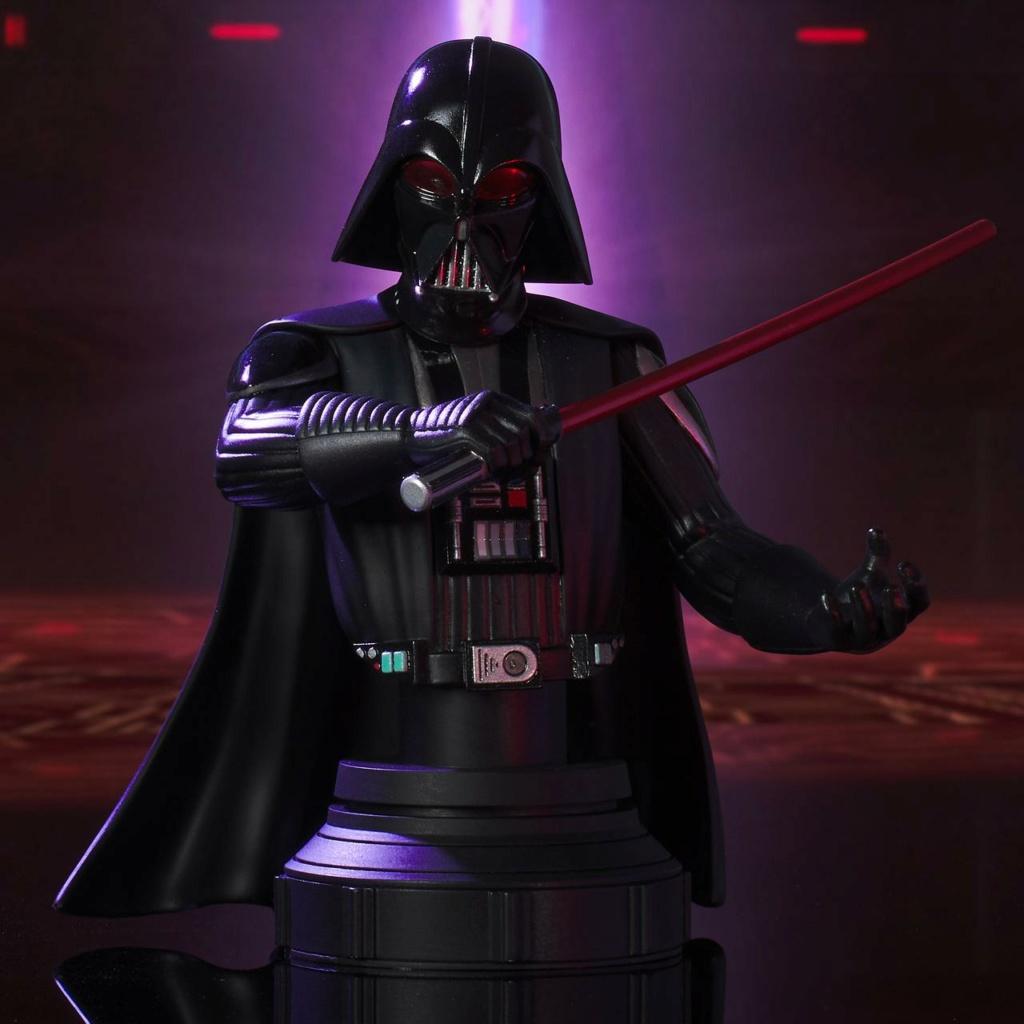 Darth Vader Deluxe Mini Bust - Star Wars Rebels Gentle Giant Darth-27