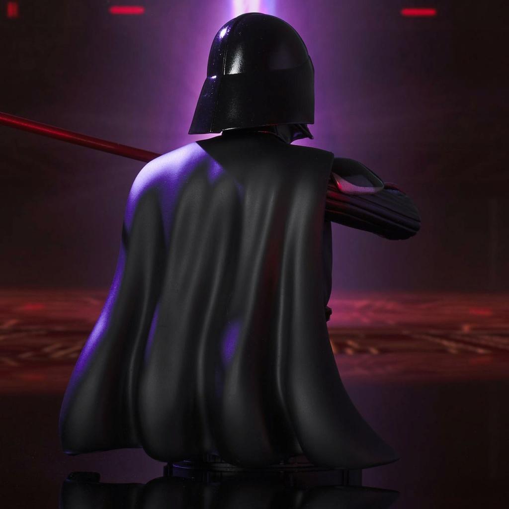 Darth Vader Deluxe Mini Bust - Star Wars Rebels Gentle Giant Darth-28
