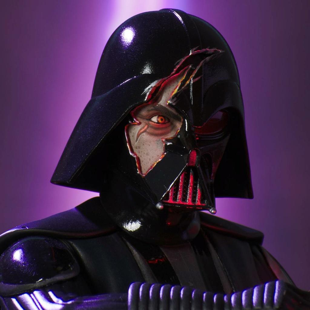 Darth Vader Deluxe Mini Bust - Star Wars Rebels Gentle Giant Darth-30