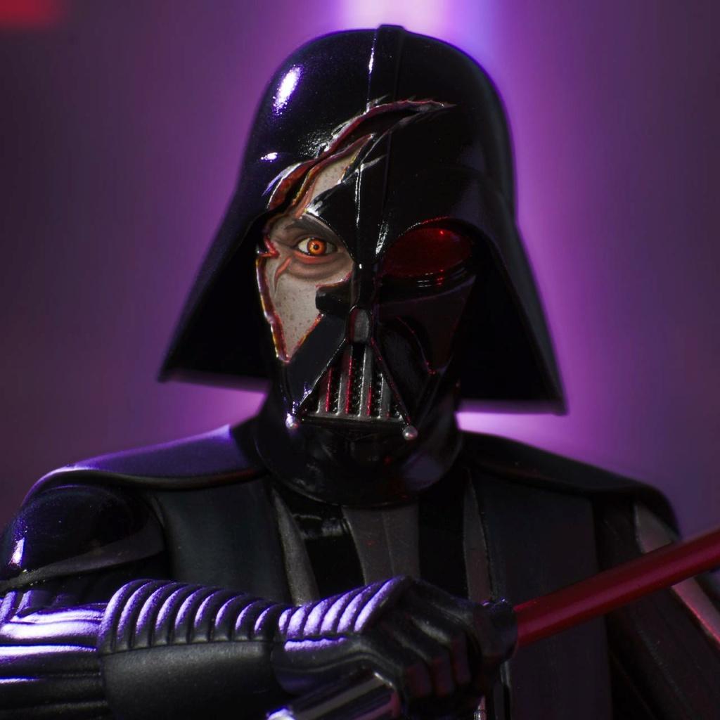 Darth Vader Deluxe Mini Bust - Star Wars Rebels Gentle Giant Darth-31
