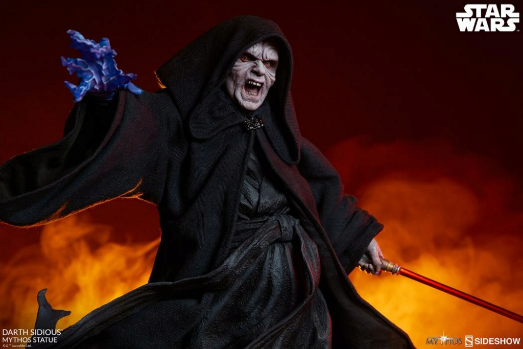 Darth Sidious Mythos Statue - Sideshow Collectibles Darth100