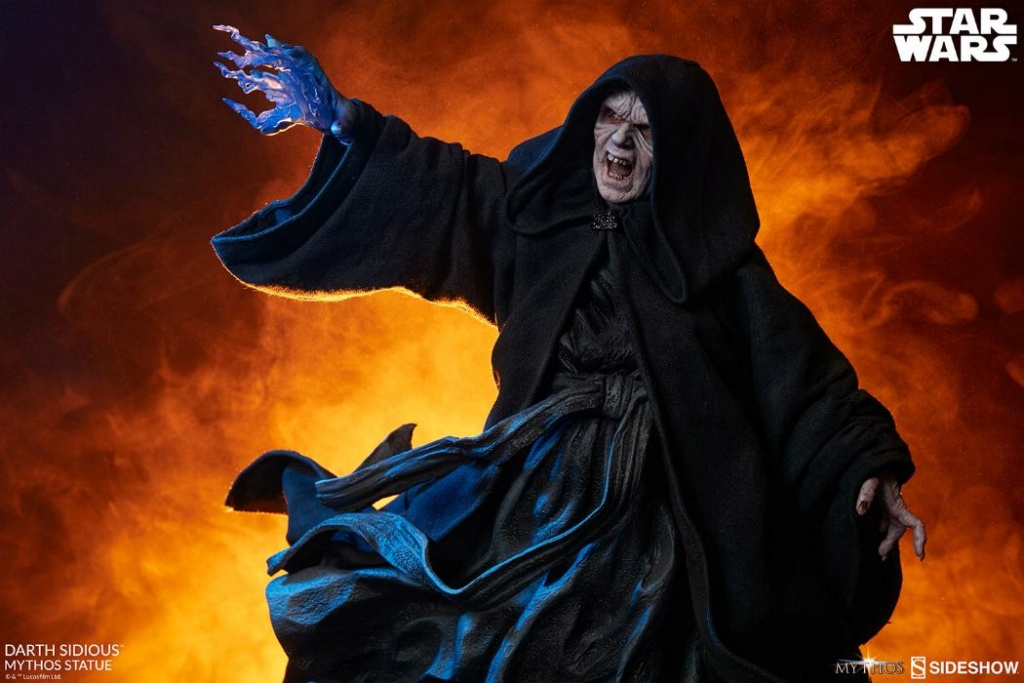 Darth Sidious Mythos Statue - Sideshow Collectibles Darth101