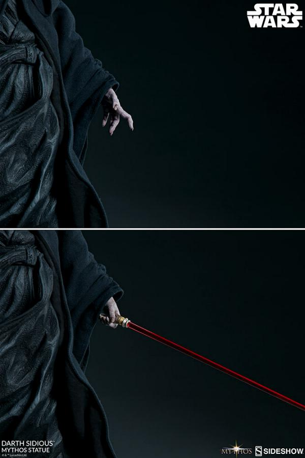 Darth Sidious Mythos Statue - Sideshow Collectibles Darth102