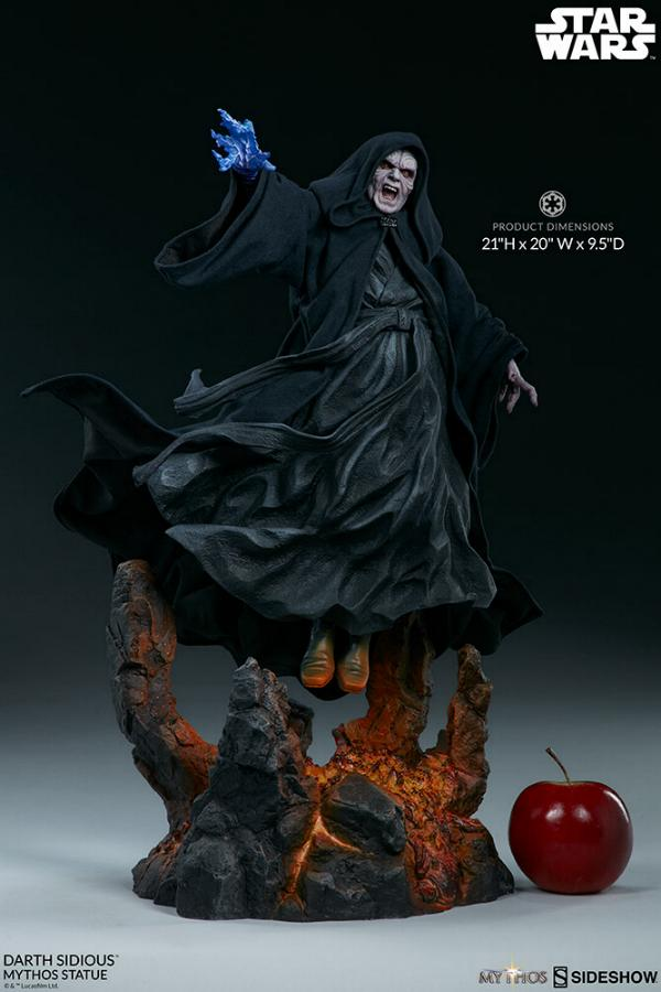Darth Sidious Mythos Statue - Sideshow Collectibles Darth103