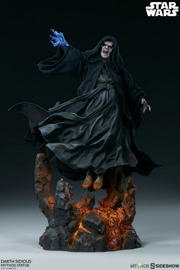Darth Sidious Mythos Statue - Sideshow Collectibles Darth104