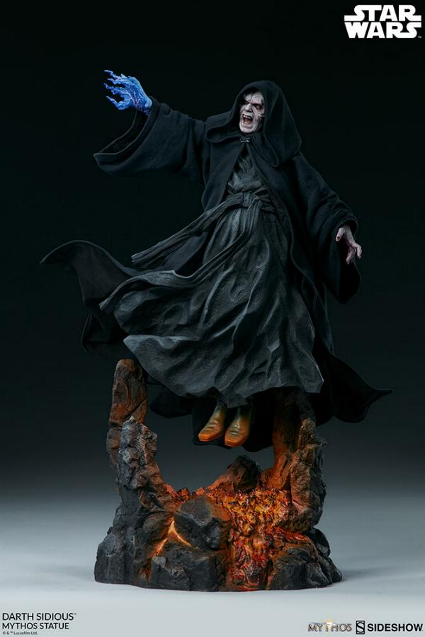 Darth Sidious Mythos Statue - Sideshow Collectibles Darth105
