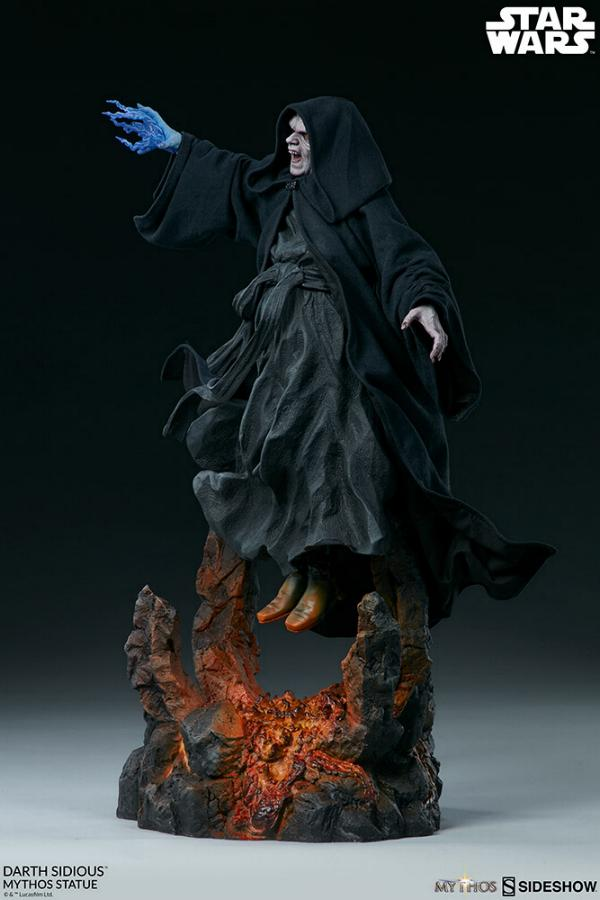 Darth Sidious Mythos Statue - Sideshow Collectibles Darth106