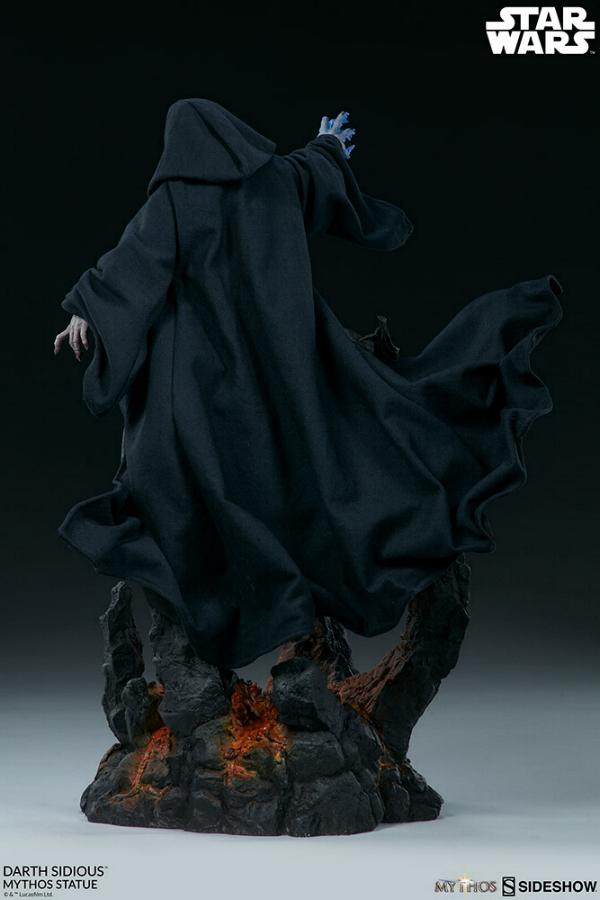 Darth Sidious Mythos Statue - Sideshow Collectibles Darth107