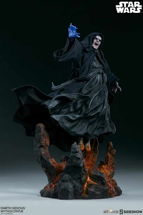 Darth Sidious Mythos Statue - Sideshow Collectibles Darth108