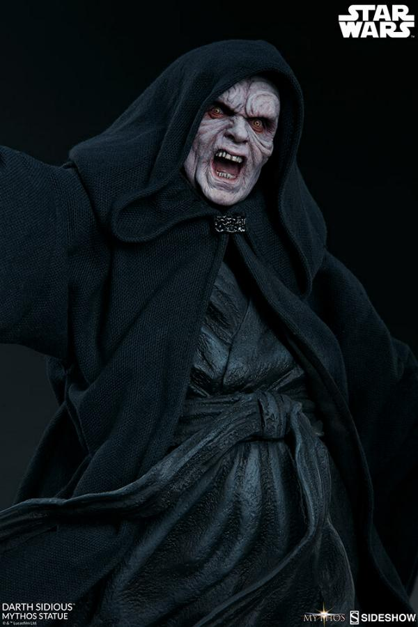 Darth Sidious Mythos Statue - Sideshow Collectibles Darth109