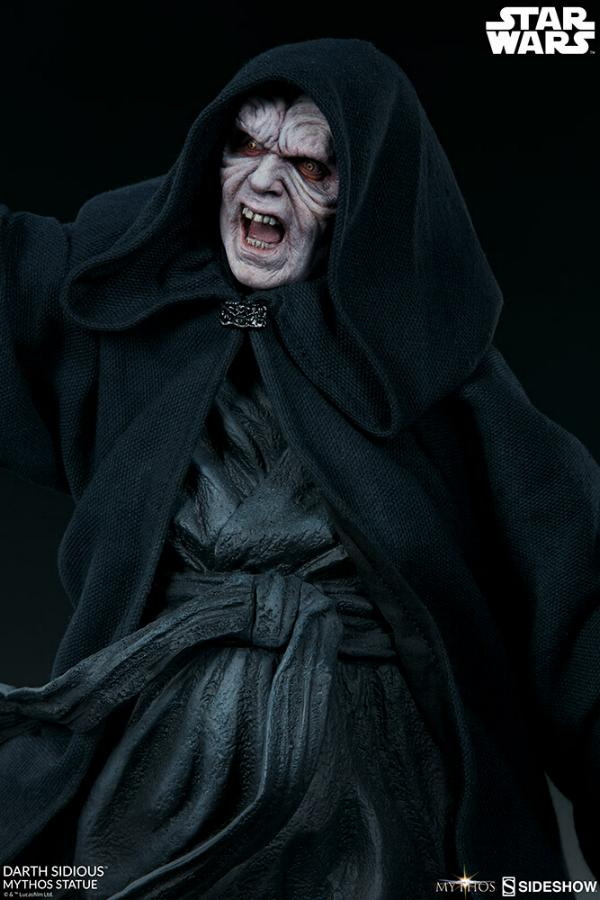 Darth Sidious Mythos Statue - Sideshow Collectibles Darth110