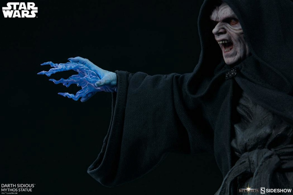 Darth Sidious Mythos Statue - Sideshow Collectibles Darth112