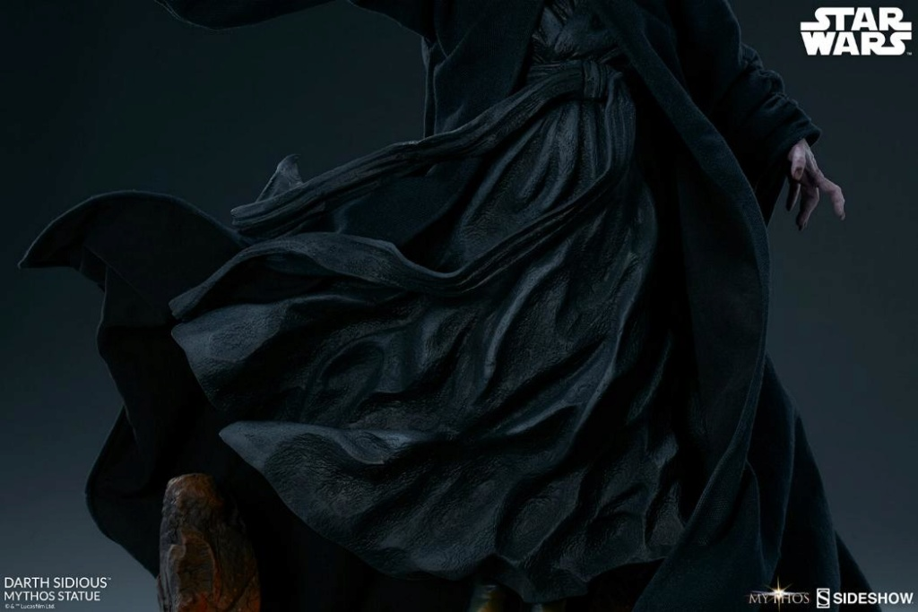 Darth Sidious Mythos Statue - Sideshow Collectibles Darth113