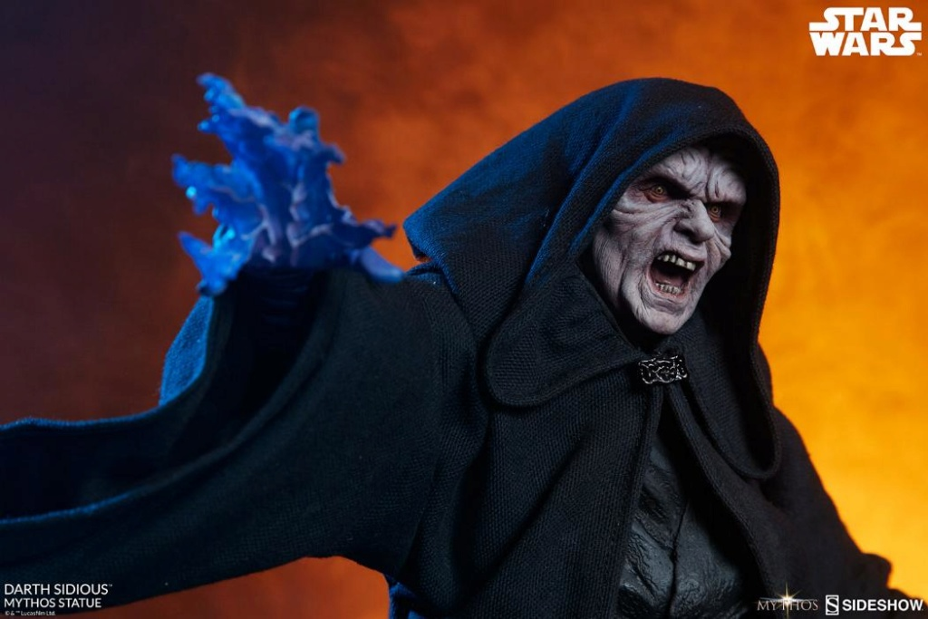 Darth Sidious Mythos Statue - Sideshow Collectibles Darth117