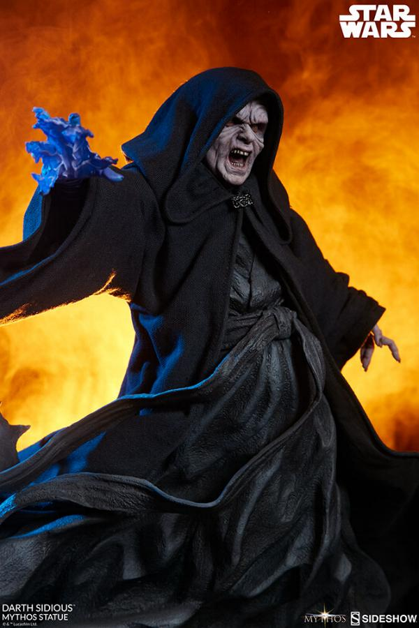 Darth Sidious Mythos Statue - Sideshow Collectibles Darth118