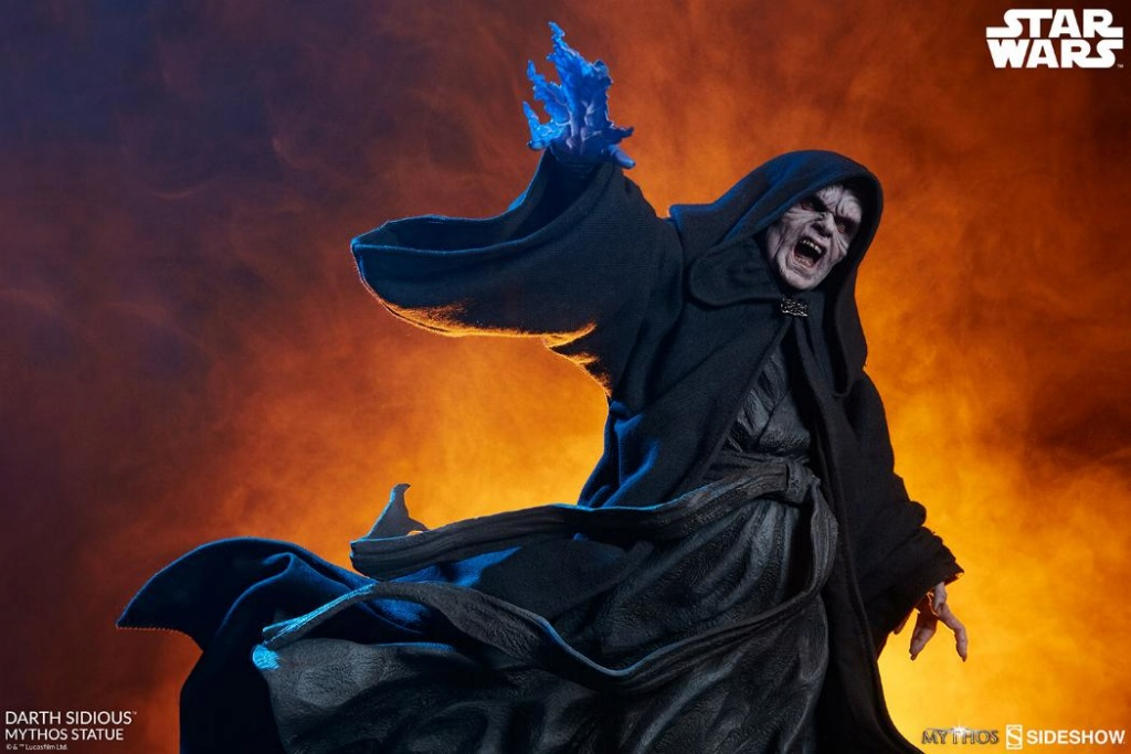 Darth Sidious Mythos Statue - Sideshow Collectibles Darth119