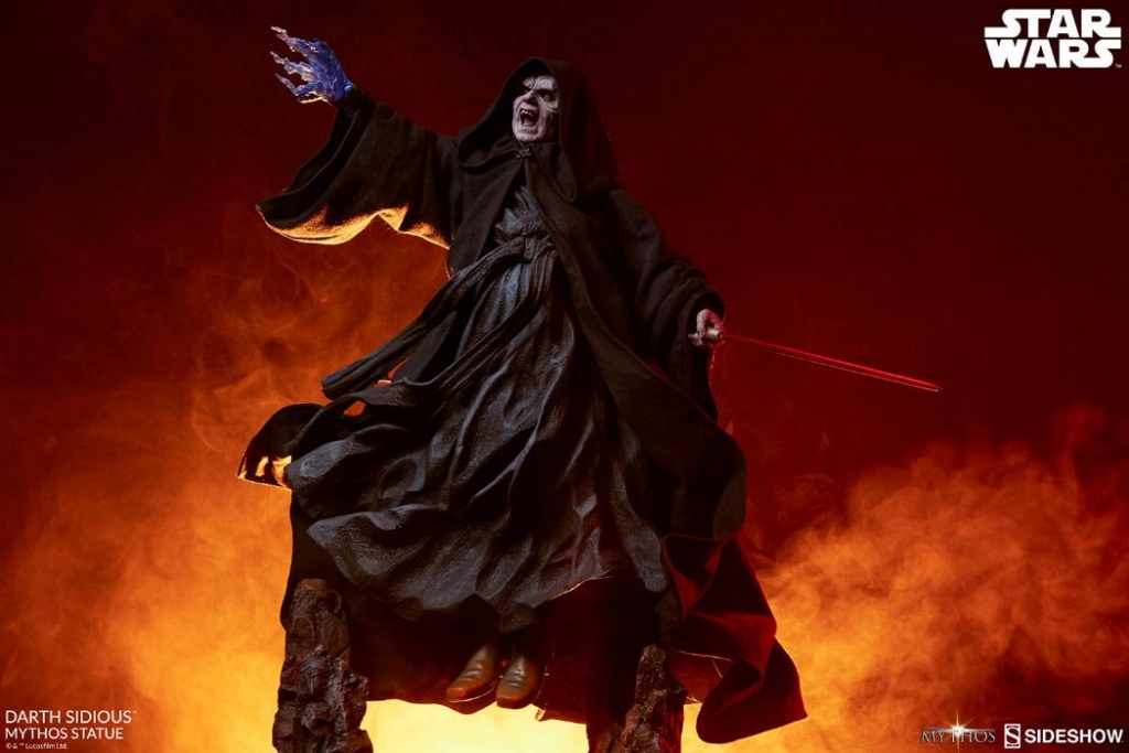Darth Sidious Mythos Statue - Sideshow Collectibles Darth120