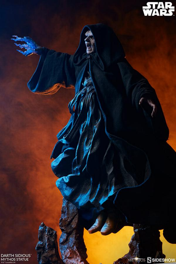 Darth Sidious Mythos Statue - Sideshow Collectibles Darth121