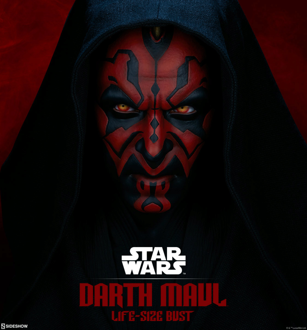 Sideshow Collectibles - Star Wars Darth Maul Life-Size Bust Darth_10