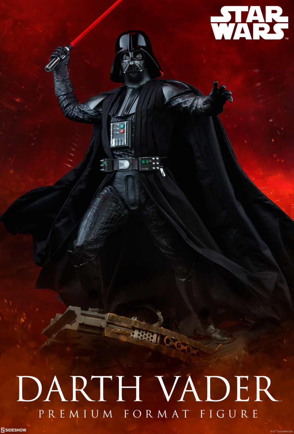 Sideshow - Darth Vader Rogue One - Premium Format Figure Darth_11