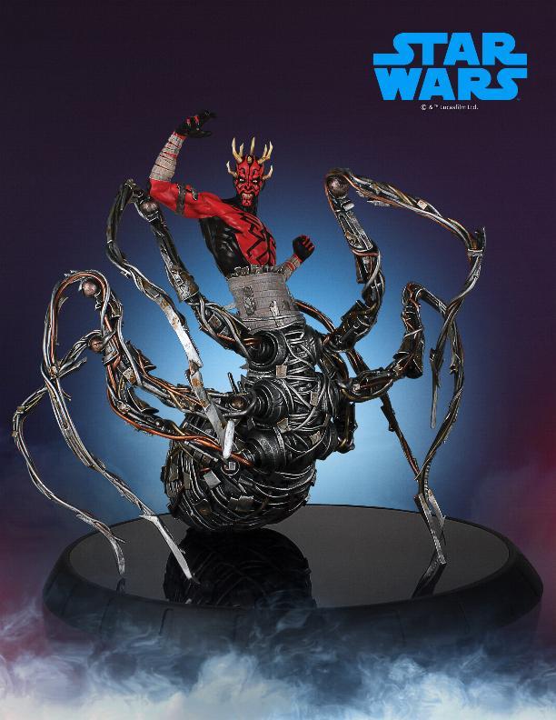 Darth Maul statue - EXCLU SWCC - Diamond Select Toys  Darth_68