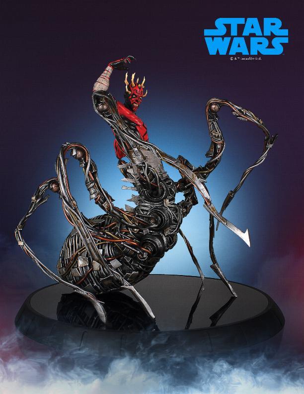 Darth Maul statue - EXCLU SWCC - Diamond Select Toys  Darth_69