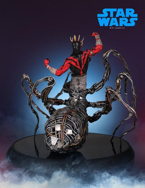 Darth Maul statue - EXCLU SWCC - Diamond Select Toys  Darth_70