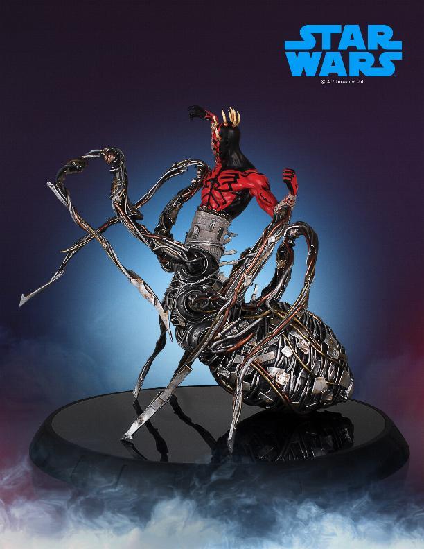 Darth Maul statue - EXCLU SWCC - Diamond Select Toys  Darth_71