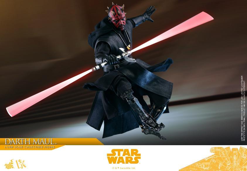 Darth Maul 1:6 Figure - Solo: A Star Wars Story - Hot Toys Darth_75
