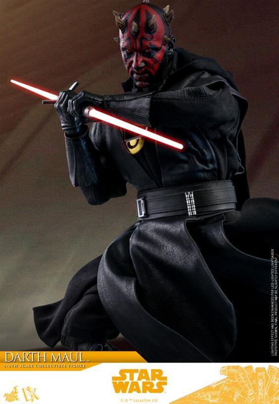 Darth Maul 1:6 Figure - Solo: A Star Wars Story - Hot Toys Darth_76