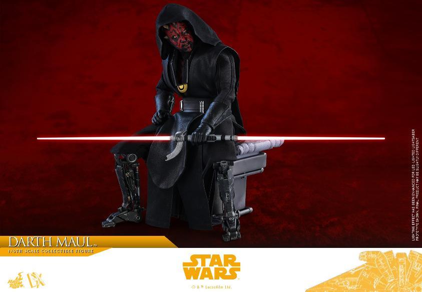 Darth Maul 1:6 Figure - Solo: A Star Wars Story - Hot Toys Darth_89