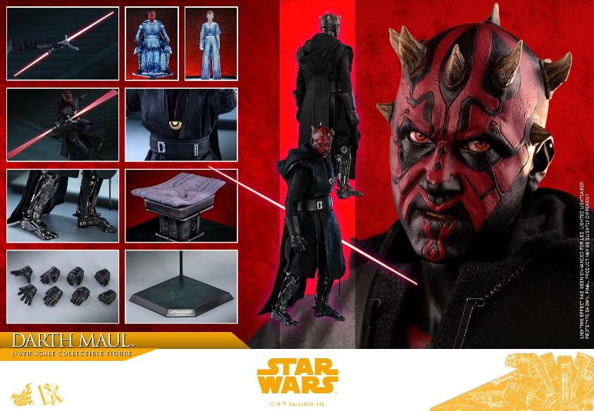 Darth Maul 1:6 Figure - Solo: A Star Wars Story - Hot Toys Darth_95