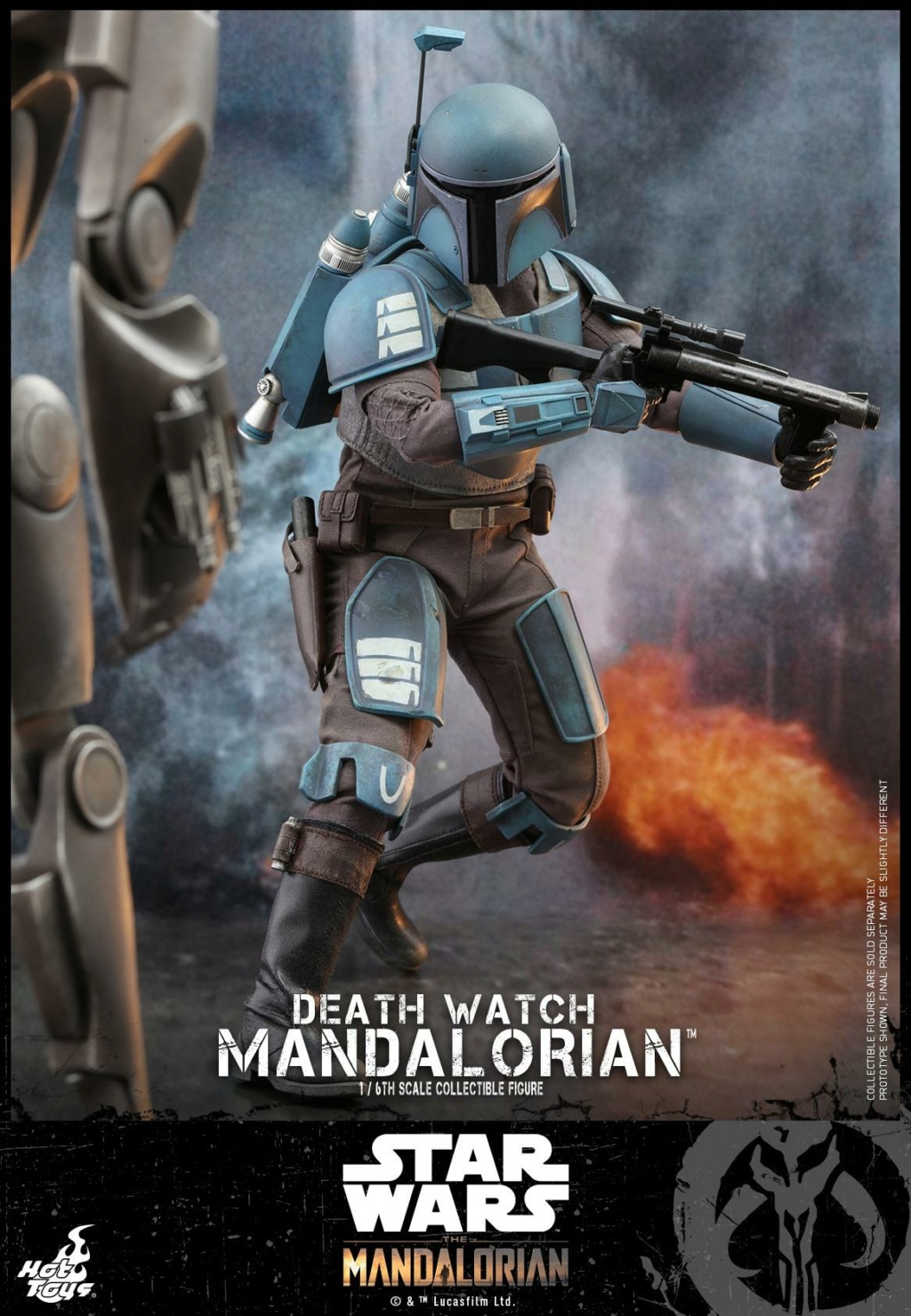 Death Watch Mandalorian Collectible Figure - Hot Toys Death_10