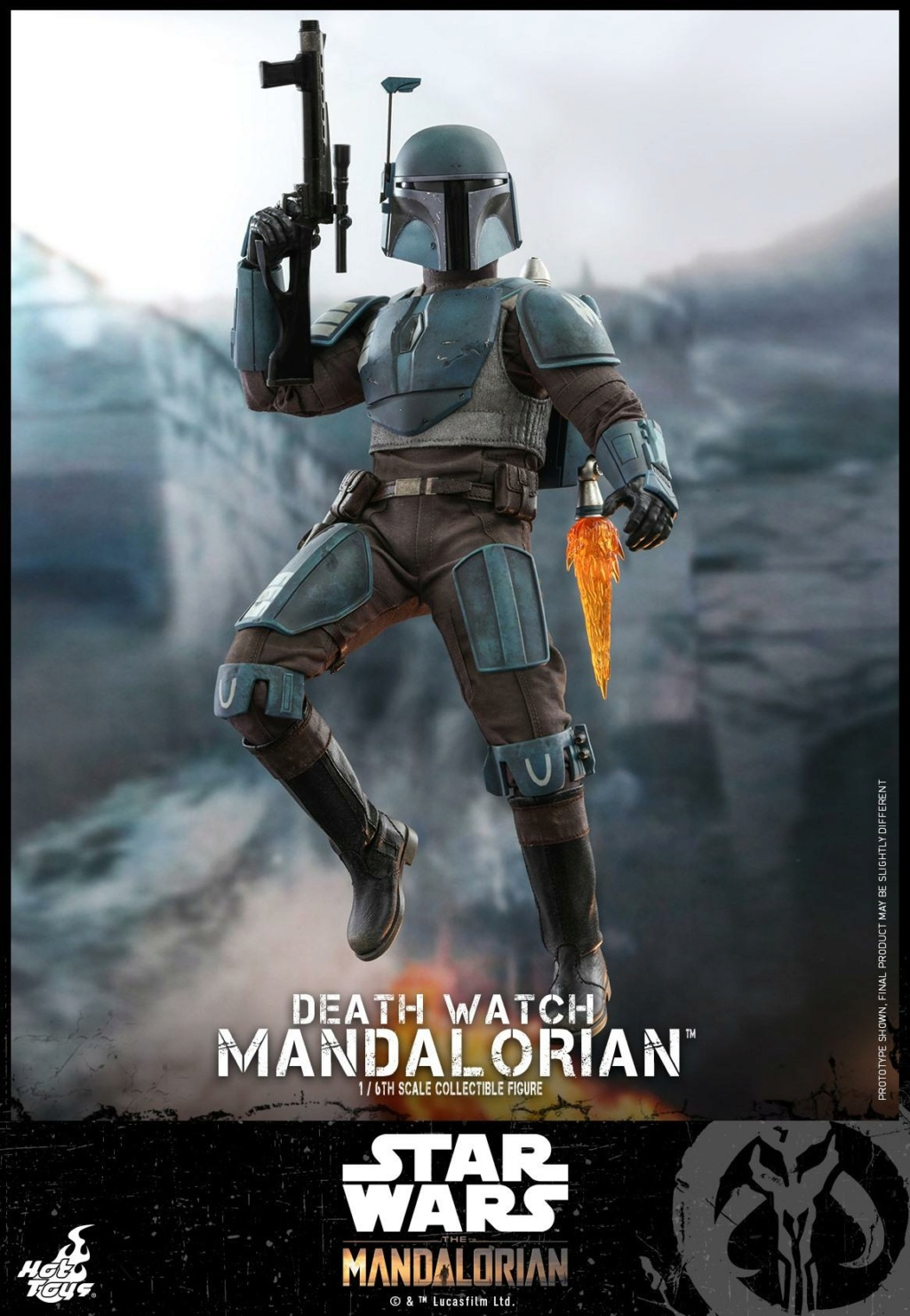Death Watch Mandalorian Collectible Figure - Hot Toys Death_11