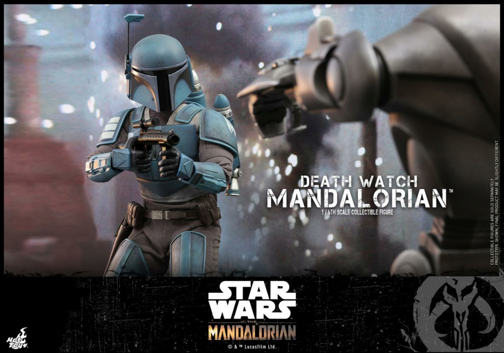 Death Watch Mandalorian Collectible Figure - Hot Toys Death_12
