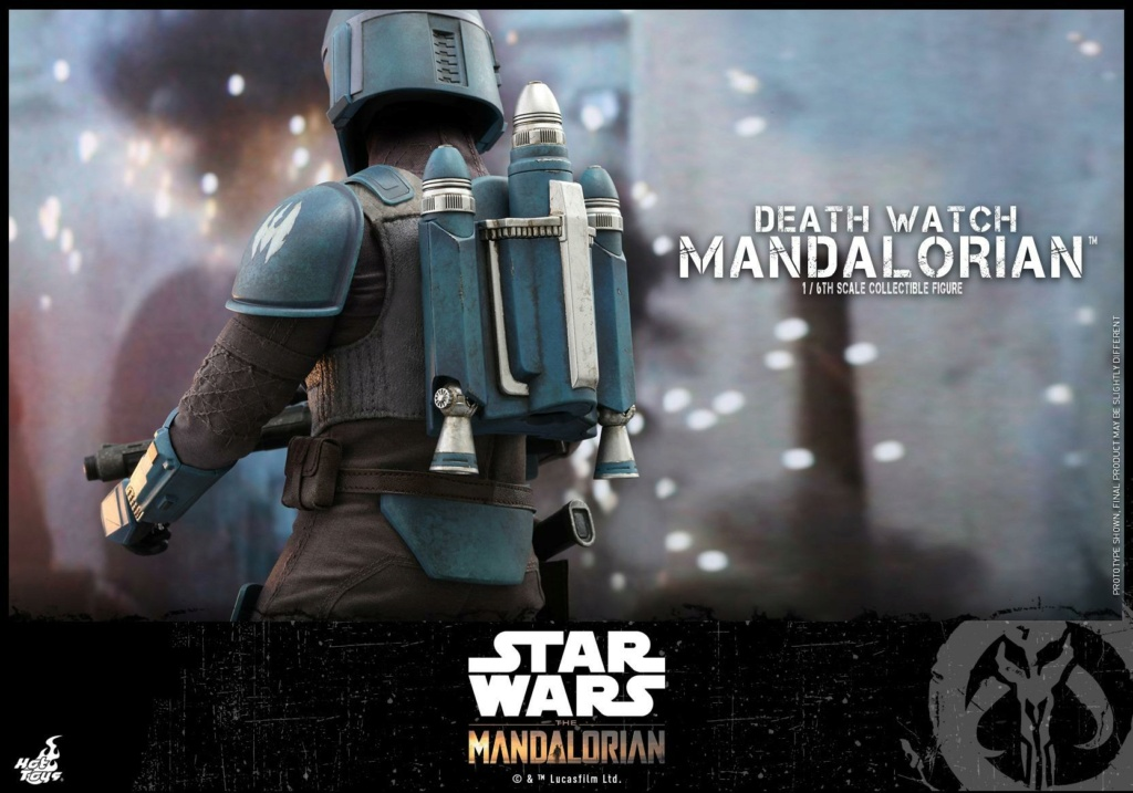 Death Watch Mandalorian Collectible Figure - Hot Toys Death_13