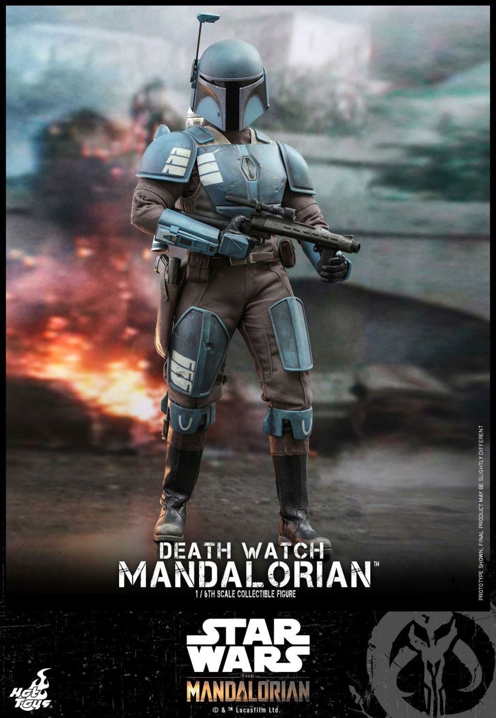 Death Watch Mandalorian Collectible Figure - Hot Toys Death_14