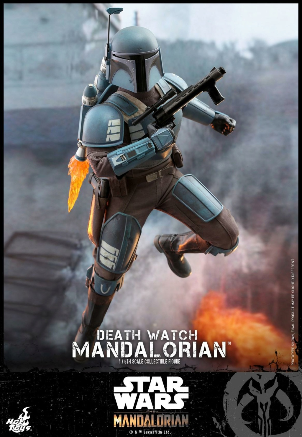 Death Watch Mandalorian Collectible Figure - Hot Toys Death_15