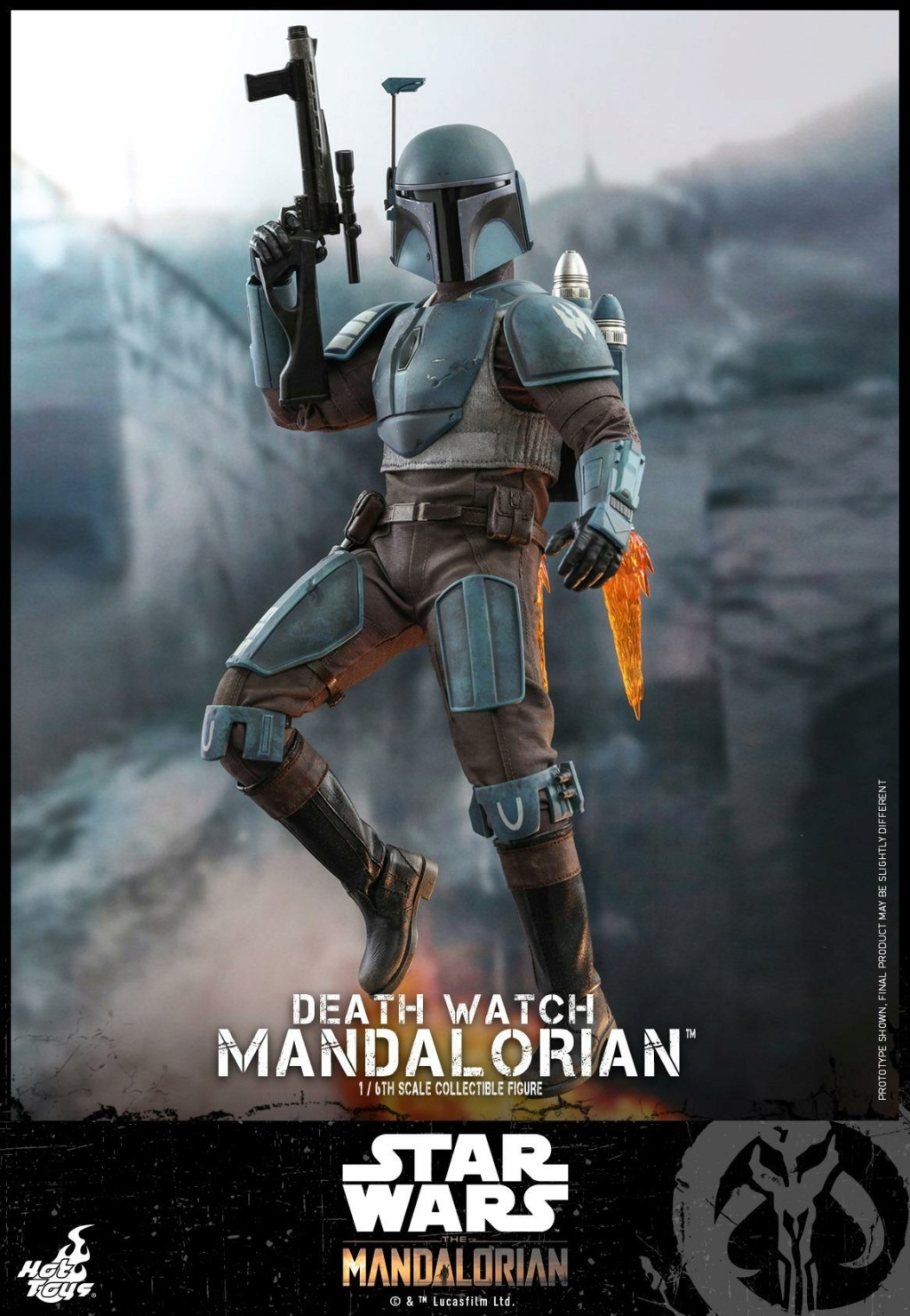 Death Watch Mandalorian Collectible Figure - Hot Toys Death_16