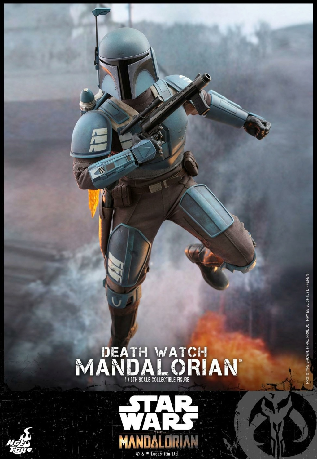 Death Watch Mandalorian Collectible Figure - Hot Toys Death_17