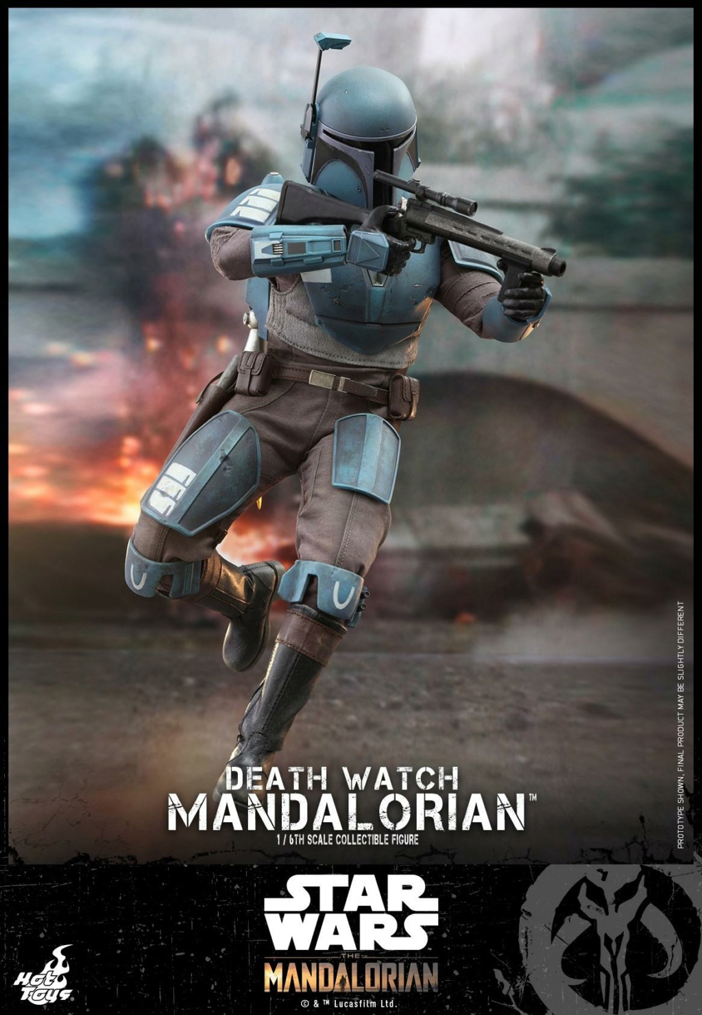 Death Watch Mandalorian Collectible Figure - Hot Toys Death_18