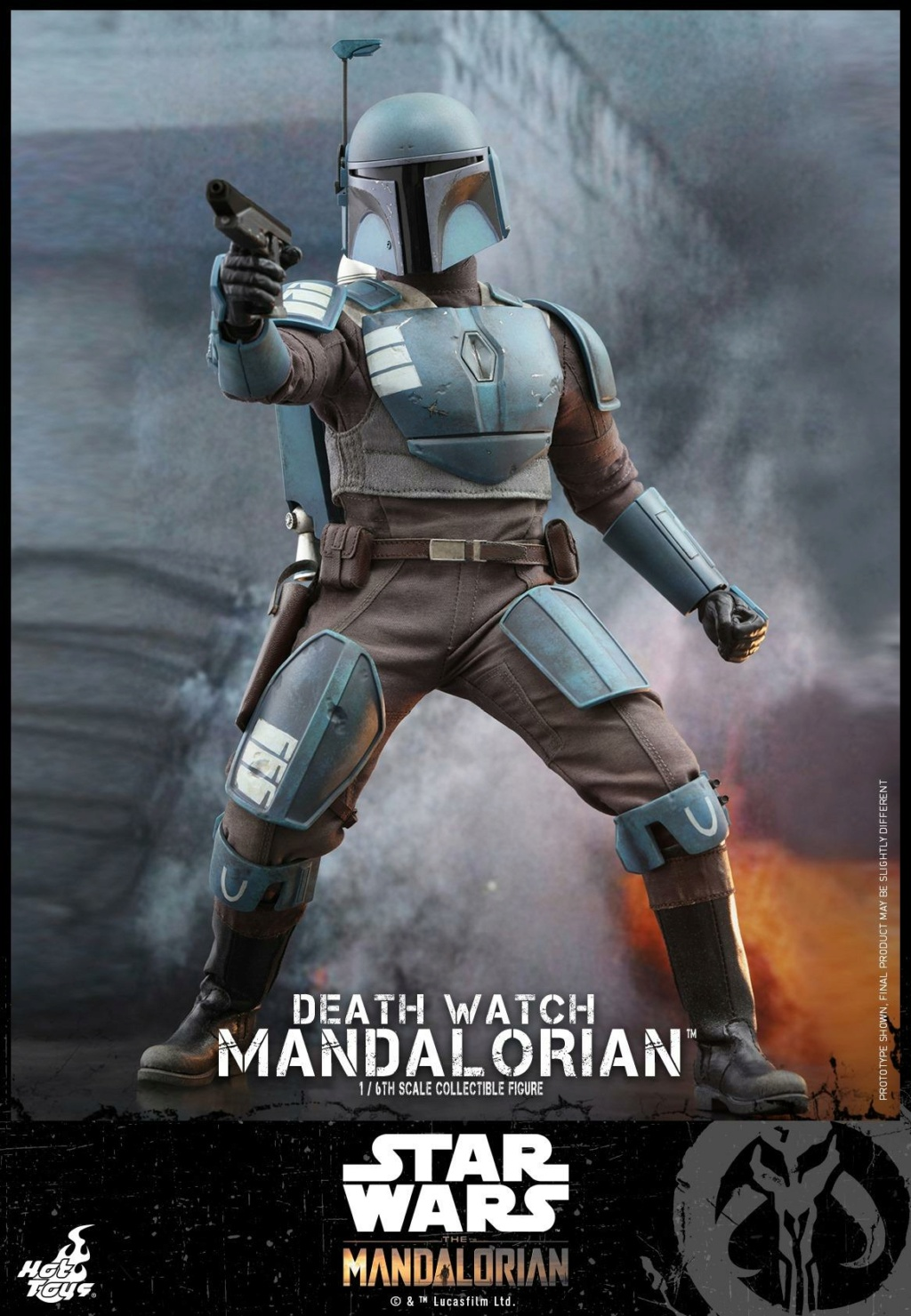 Death Watch Mandalorian Collectible Figure - Hot Toys Death_19