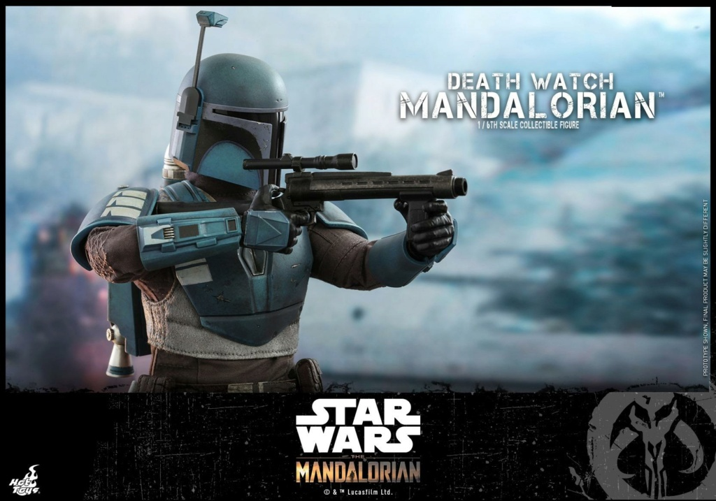 Death Watch Mandalorian Collectible Figure - Hot Toys Death_20