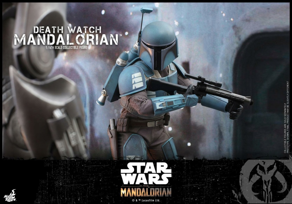 Death Watch Mandalorian Collectible Figure - Hot Toys Death_21