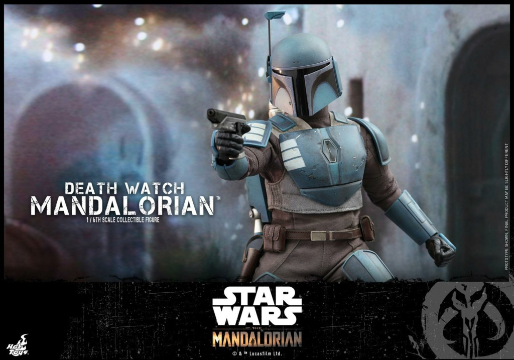 Death Watch Mandalorian Collectible Figure - Hot Toys Death_22