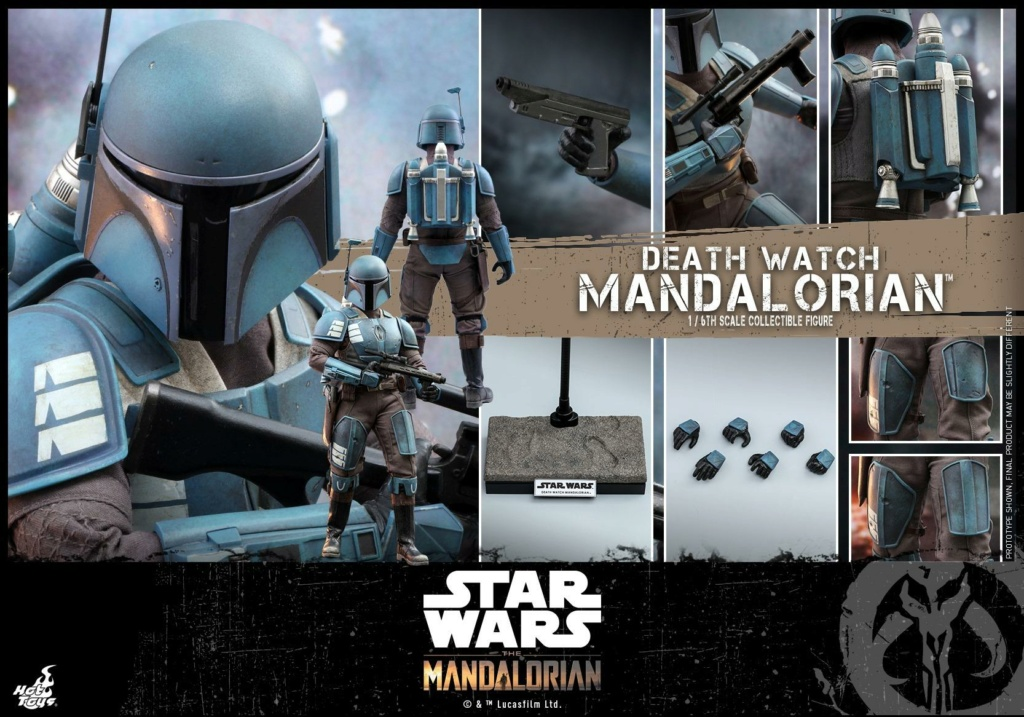 Death Watch Mandalorian Collectible Figure - Hot Toys Death_23